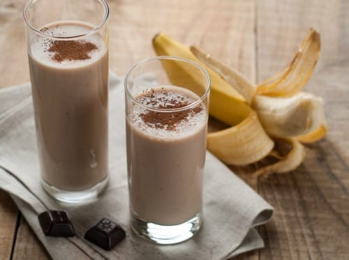 Chocolate Banana Dessert Smoothie