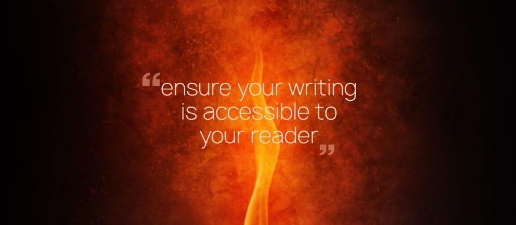 accessible writing