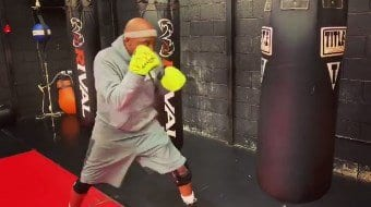 Ryan Grant Working The Bag