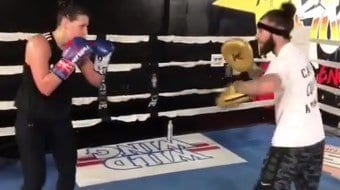 Womens Boxing For Advanced Female Figthers