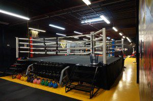 Grants MMA Boxing Gym Facility Ring