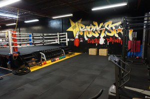Grants MMA Boxing Gym Weight Area