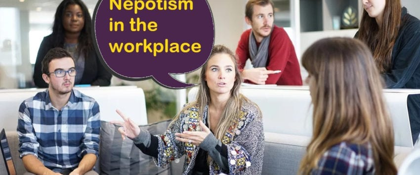 soni blog nepotism in the workplace speech small